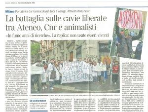 Vivisezione Milano